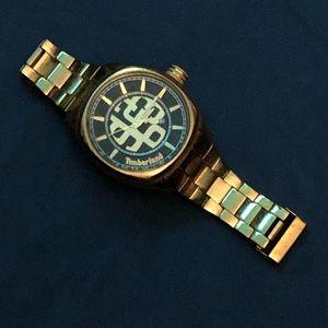 Timberland mens gold watch